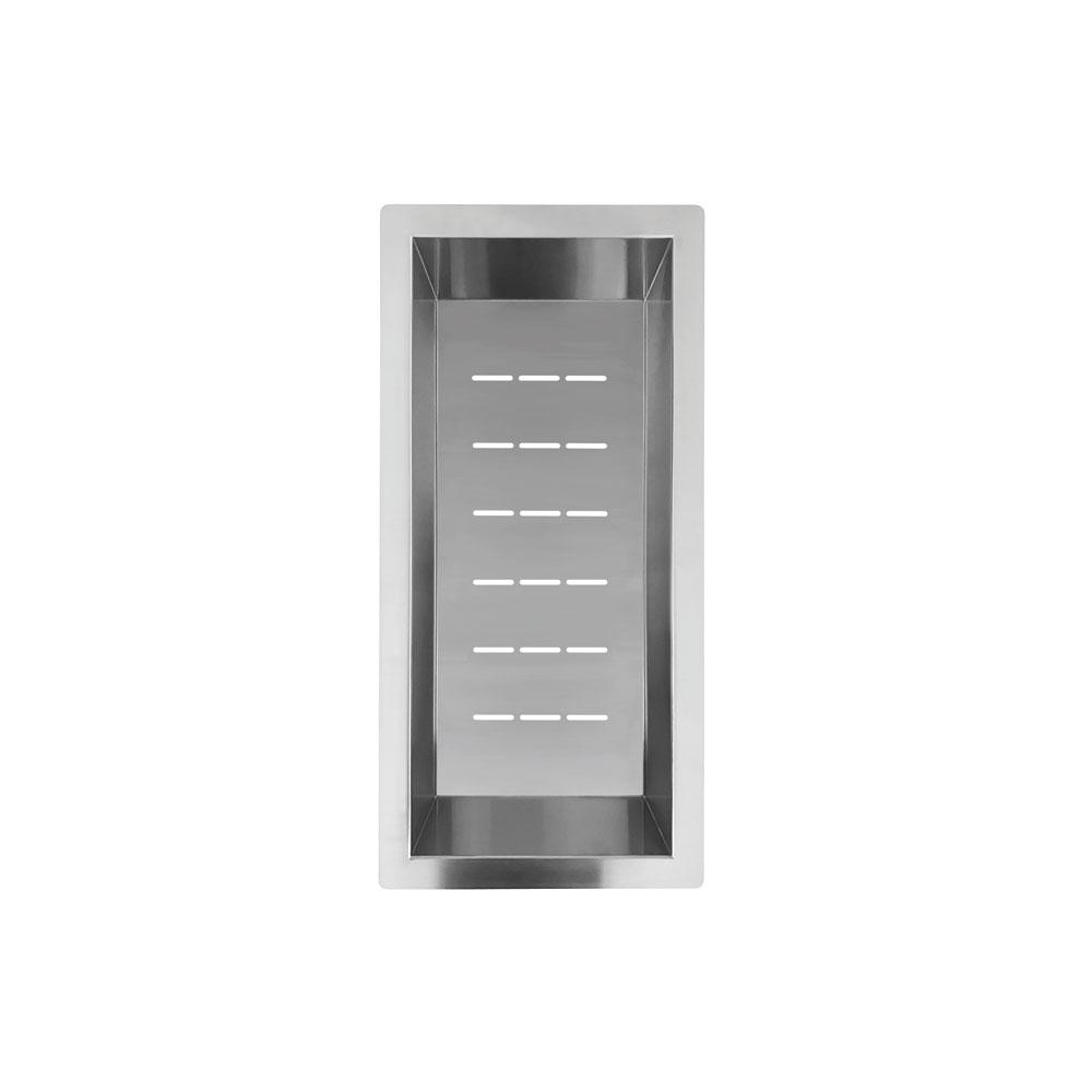 Paslanmaz Çelik Süzgeç Kase - Nivito CU-WB-200-B
