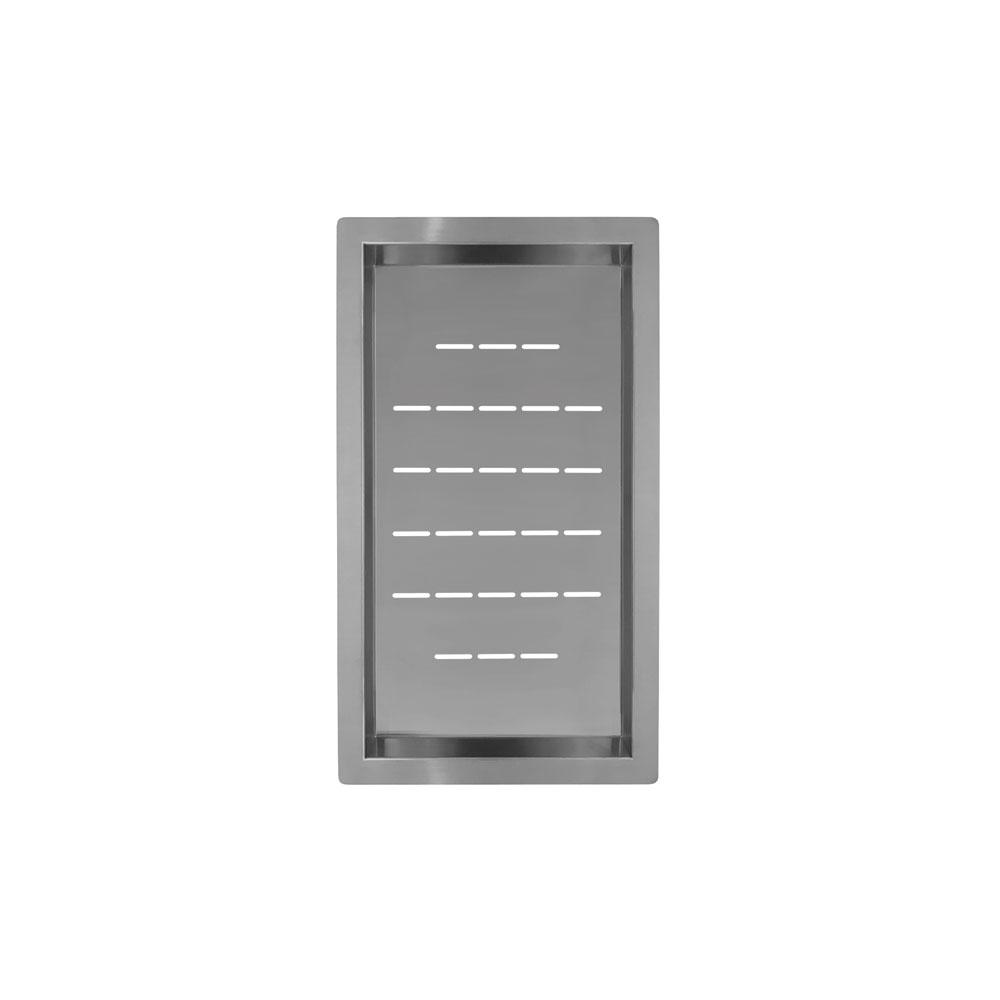 Paslanmaz Çelik Süzgeç Kase - Nivito CU-WB-240-B