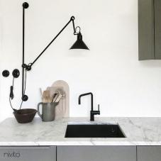 Siyah Mutfak Musluk - Nivito 16-RH-320