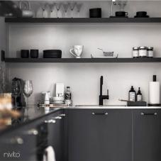 Siyah Mutfak Musluk - Nivito 21-RH-320