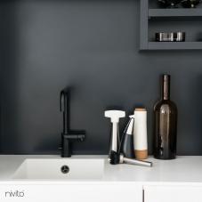 Siyah Mutfak Musluk - Nivito 7-RH-320