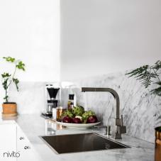 Paslanmaz Çelik Mutfak Musluk - Nivito 1-SP-300