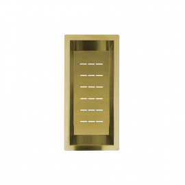Altın/Pirinç Süzgeç Kase - Nivito CU-WB-200-BB